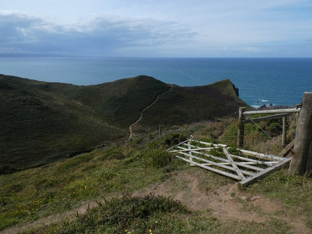 South West Coast Path on Higher Sharpnose Point