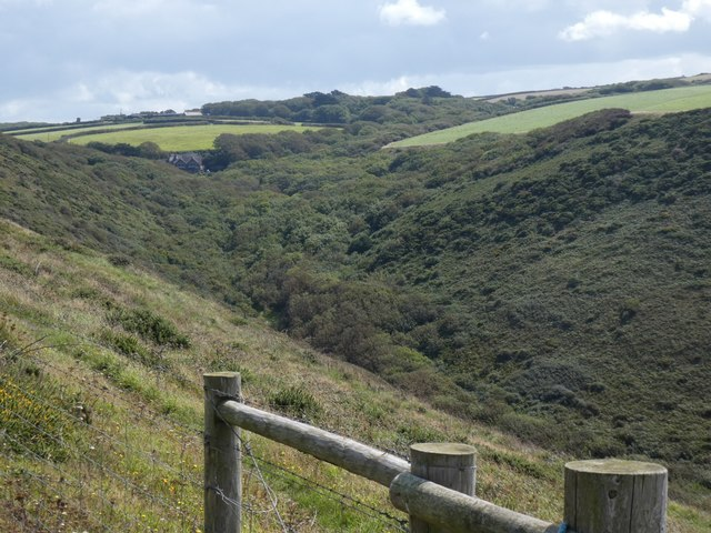The Tidna Shute, a valley south of Morwenstow