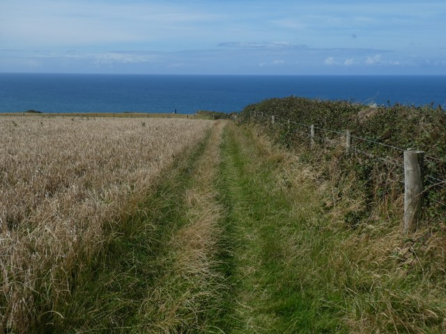 Path to Vicarage Cliff from Crosstown