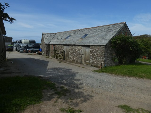 Stone barn at Morwenstow