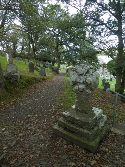 The old stone cross, Morwenstow churchyard