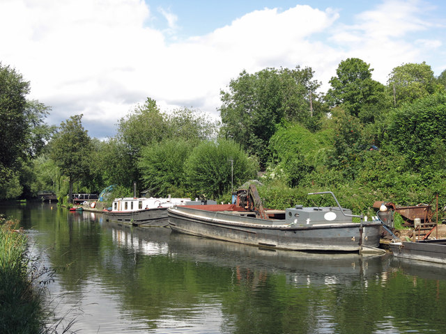 The Grand Union Canal by Springwell Barn