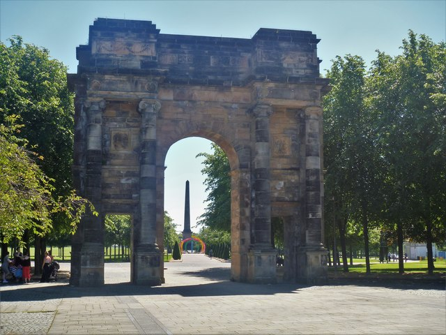 Glasgow monuments and sculptures [17]