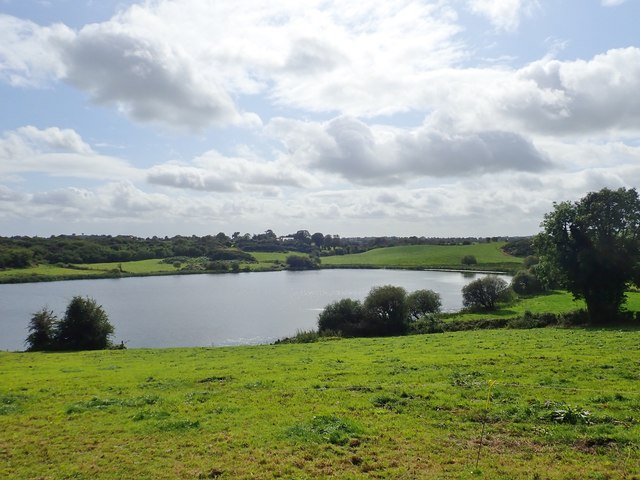 Drumboy Lough viewed from the Drumboy Road