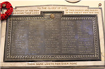 NS3321 : The Great War Memorial, Ayr Auld Kirk by Billy McCrorie