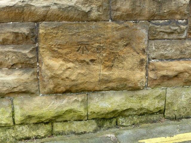 Bench mark, Mansfield Viaduct