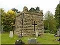 SK5459 : Mansfield Cemetery, Walker family mausoleum by Alan Murray-Rust