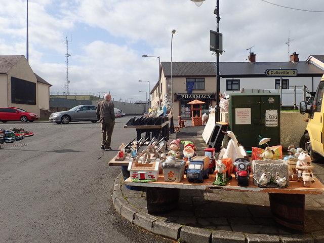 Stall at Crossmaglen Market