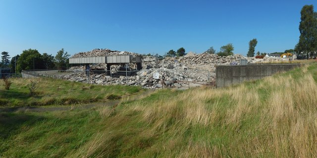 Demolition of the County Buildings