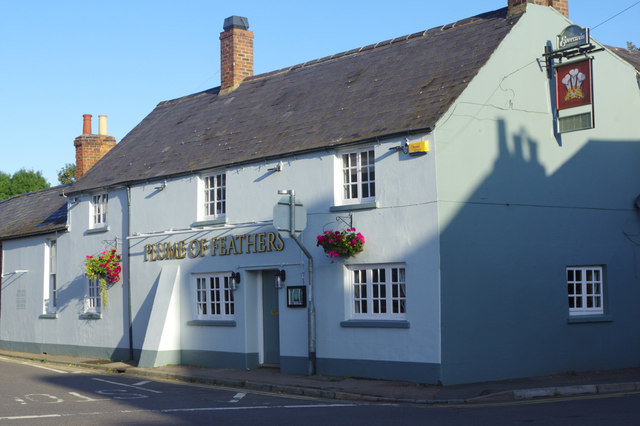 The Plume of Feathers, Weedon