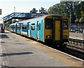 ST1067 : Vale of Glamorgan Line train leaving Barry station by Jaggery