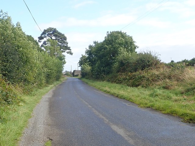 View South-eastwards along Monog Road