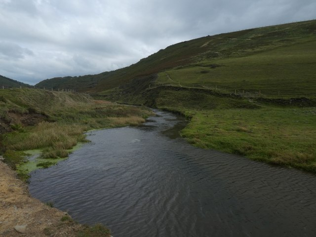 The stream at Duckpool
