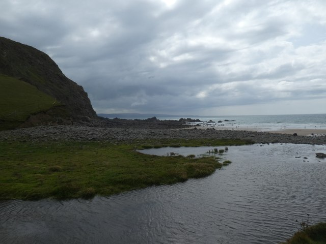 Duckpool at low tide
