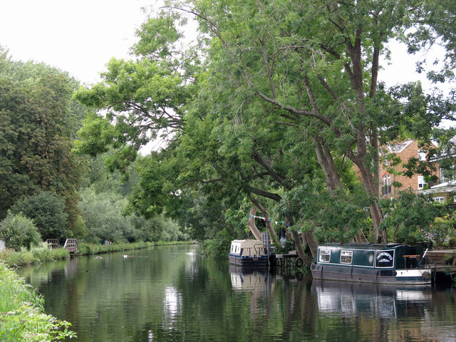 The Grand Union Canal by Lynsters Lake (3)