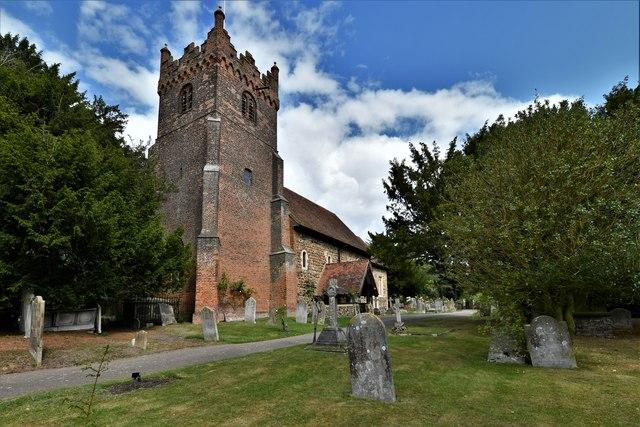 Fryerning, St. Mary's Church: South western aspect