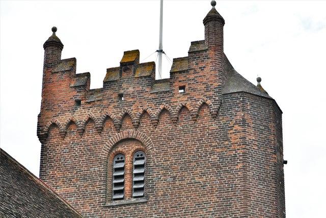 Fryerning, St. Mary's Church: Brick tower 2