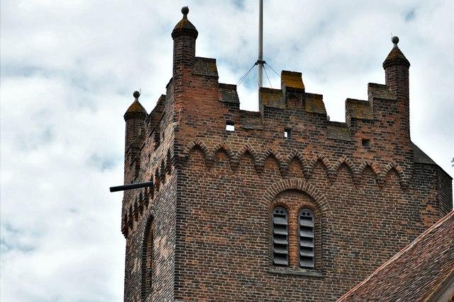 Fryerning, St. Mary's Church: Brick tower 3