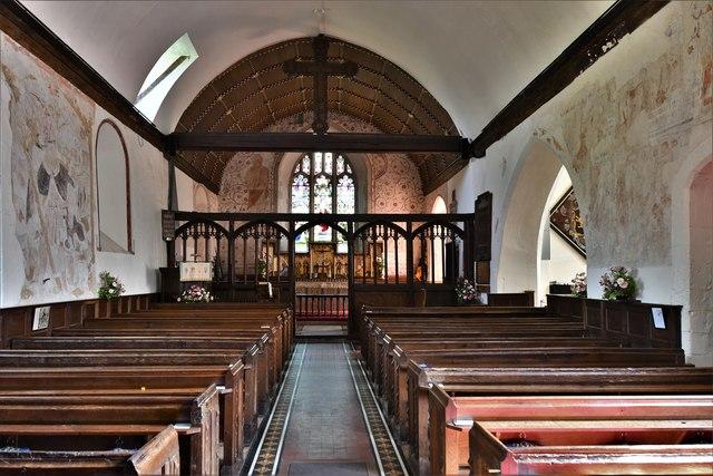 Bramley, St. James Church: The nave