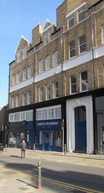 Albany Chambers, Skinner Street, Newport