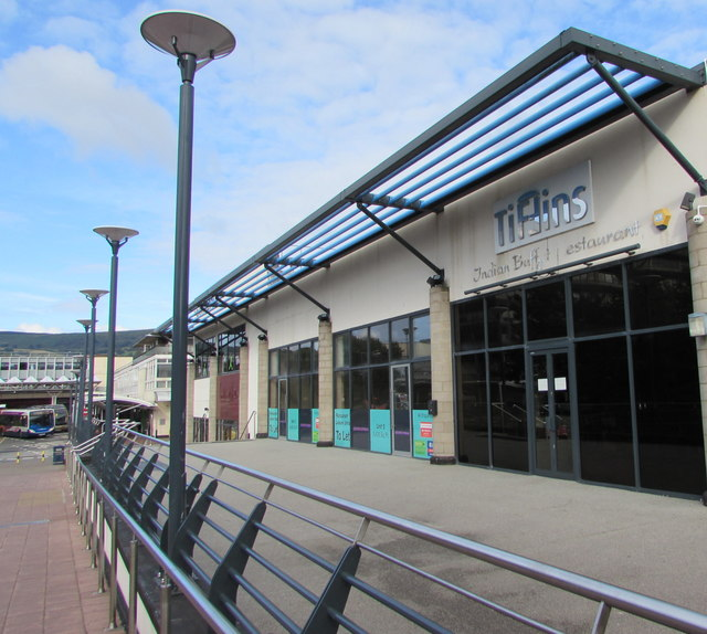 Tiffins in Cwmbran town centre