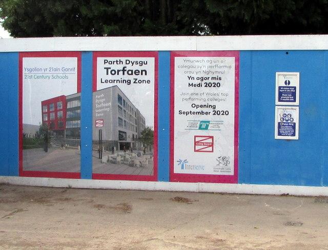 Parth Dysgu Torfaen/Torfaen Learning Zone information, Cwmbran