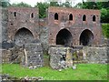SJ6903 : Former blast furnaces at Blist Hill by Philip Halling