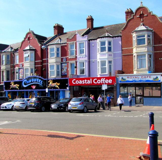 Coastal Coffee shop, Paget Road, Barry Island