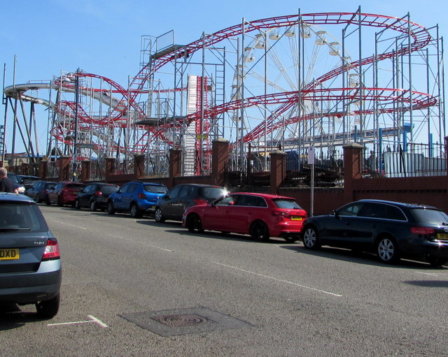 Barry Island roller coaster