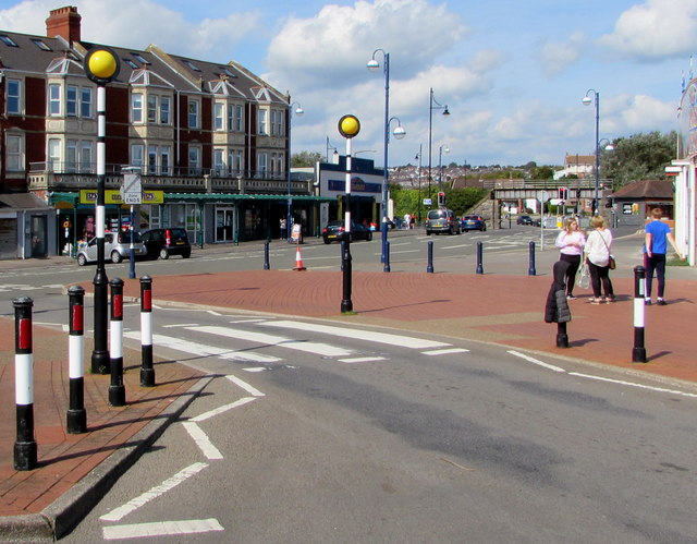 Zebra crossing, Friars Road, Barry Island