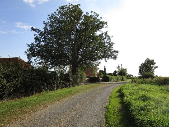 West Fen Lane, Stickney