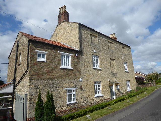 Old house in Back Lane, Colsterworth