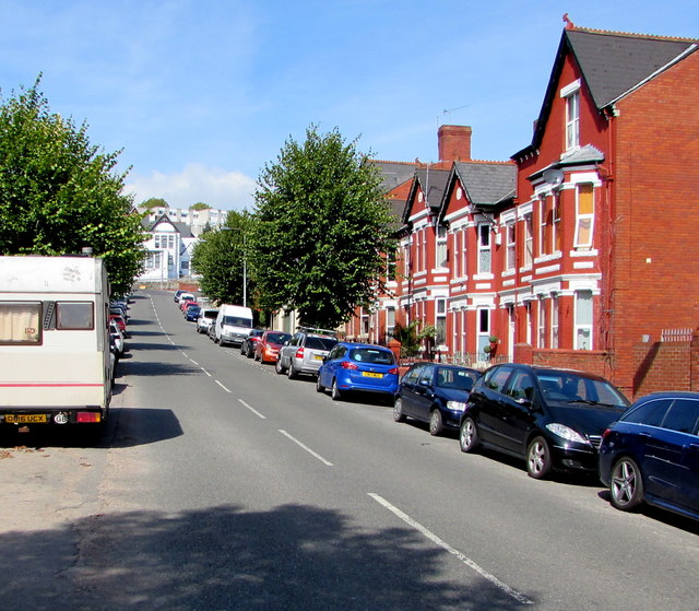 Up Windsor Road, Barry