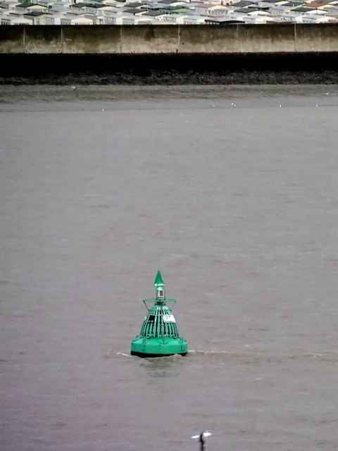 River Thames, Scar's Elbow Buoy near Canvey Island