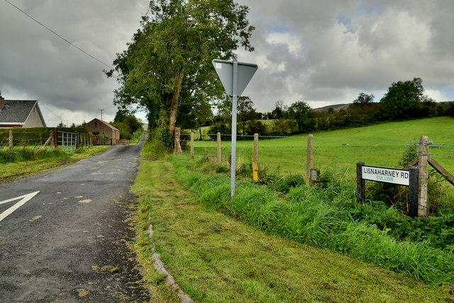 Lisnaharney Road, Cullion