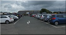 SS2006 : Car park and information office, Bencoolen Road, Bude by David Smith