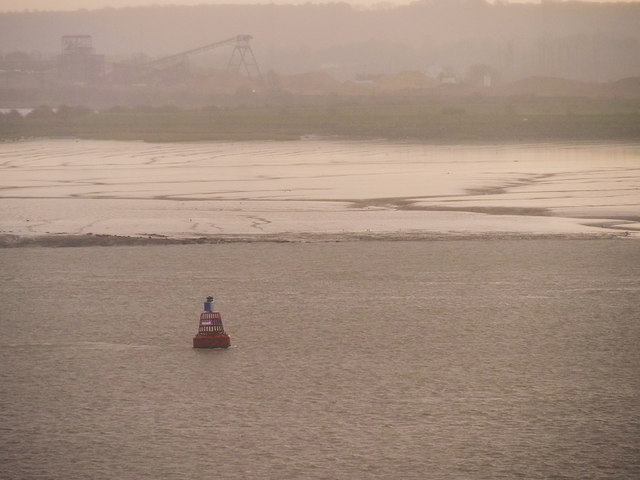Higham Buoy and Thames Mudbanks