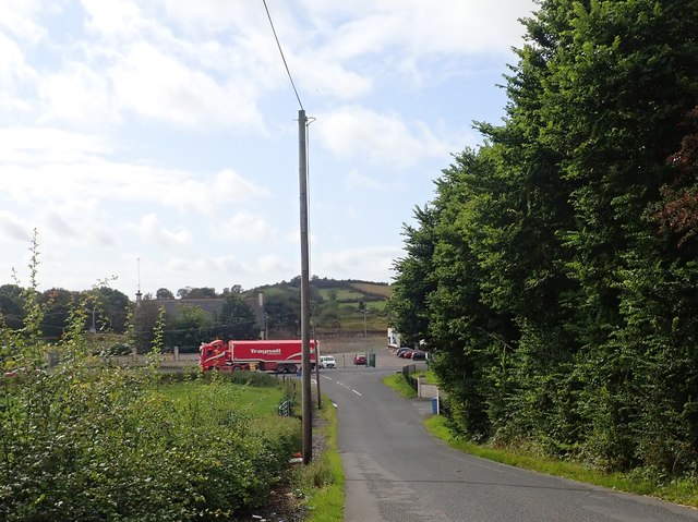 First view of Concession Road from Foxfield Road