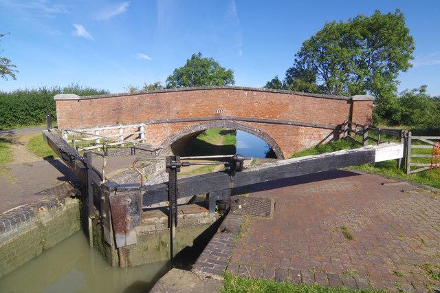 Lock 12 and Shut Bridge, Oxford Canal