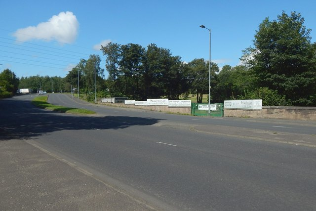 A view across Nitshill Road