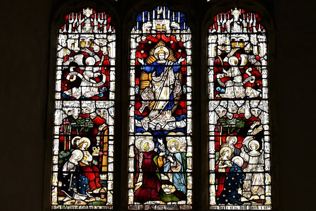 Silchester, St. Mary's Church: East window