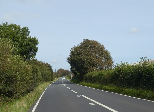 A395 west of Downhead