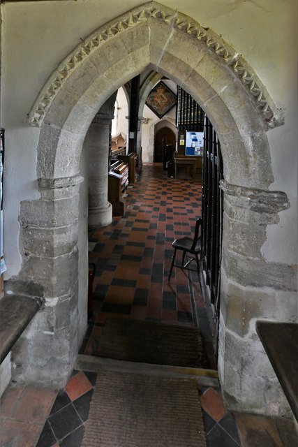 Silchester, St. Mary's Church: North doorway