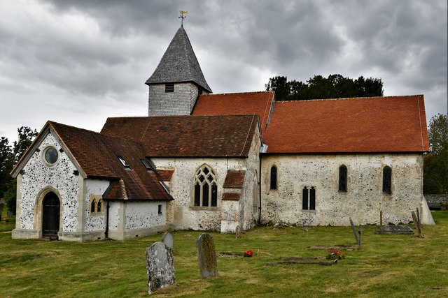 Silchester, St. Mary's Church: Southern aspect