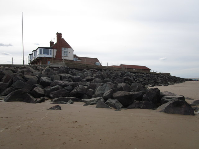 The Royal West Norfolk Golf Club clubhouse