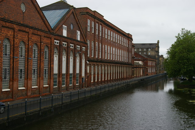 Factories along Waterside South