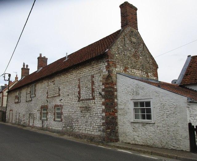 House opposite the church, Brancaster