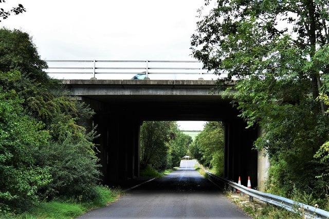 Dummer: Bridge over the M3 motorway