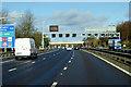TL0327 : Northbound M1 nearing Toddington Services by David Dixon