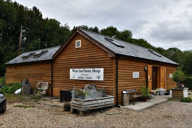 Alresford: West Lea Farm Shop